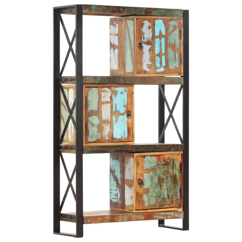 vidaXL Boekenkast 90x30x150 cm massief gereyccled hout