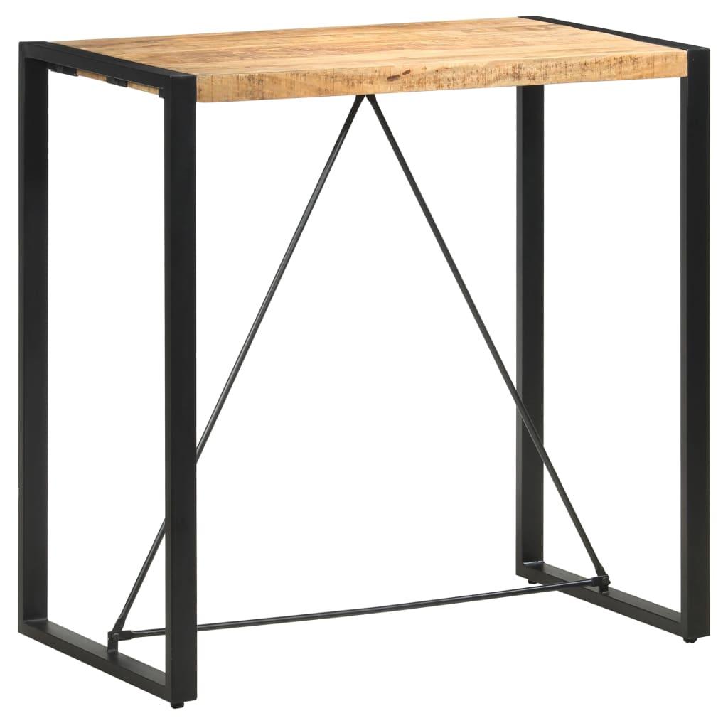 vidaXL Masă de bar, 110 x 60 x 110 cm, lemn masiv de mango vidaxl.ro