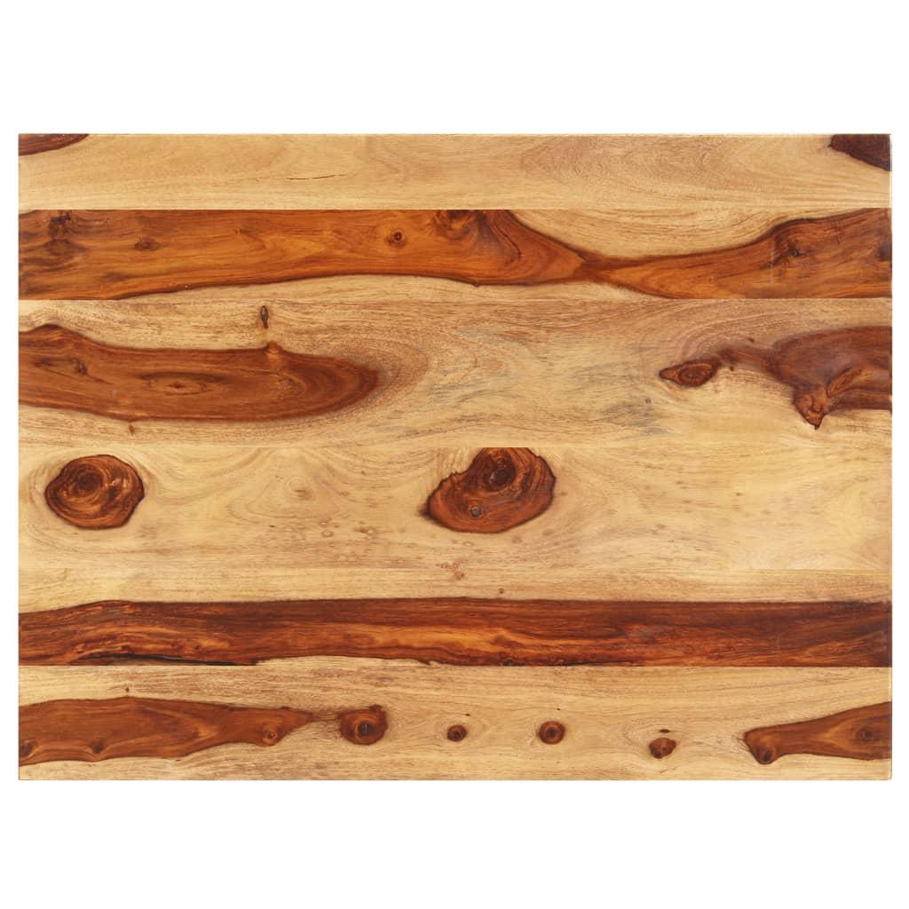 vidaXL Blat de masă, 70 x 90 cm, lemn masiv de sheesham, 15-16 mm imagine vidaxl.ro