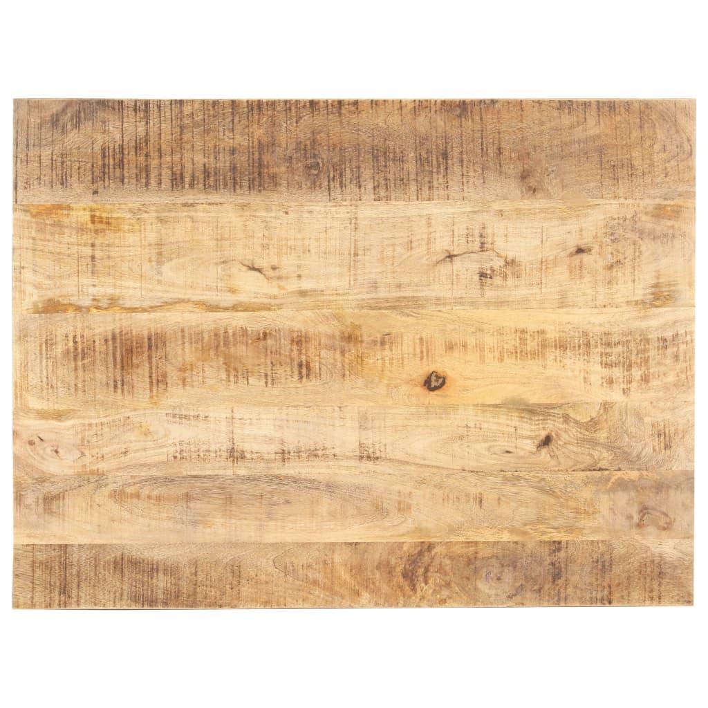 Stolní deska masivní mangovníkové dřevo 15–16 mm 70 x 60 cm