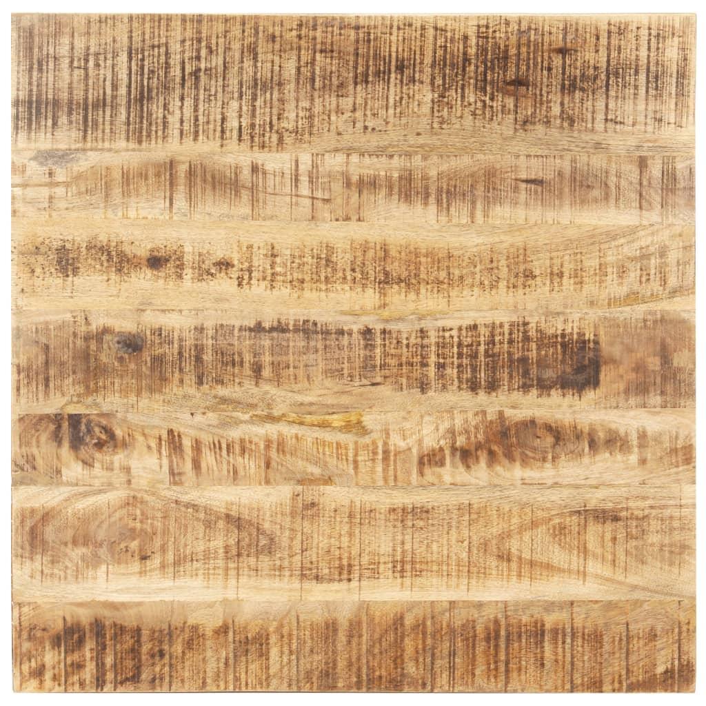 vidaXL Blat de masă, 80 x 80 cm, lemn masiv de mango, 15-16 mm poza vidaxl.ro