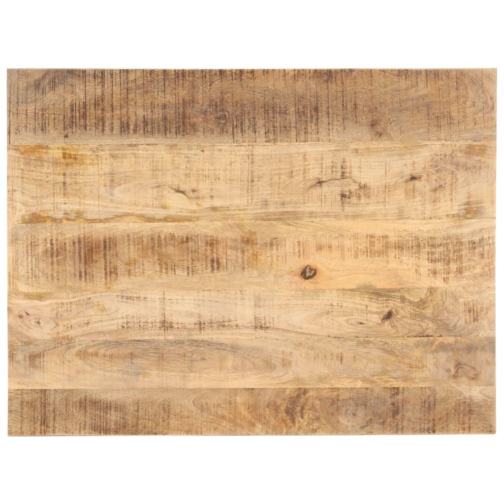 vidaXL Blat de masă, 90 x 70 cm, lemn masiv de mango, 25-27 mm poza vidaxl.ro