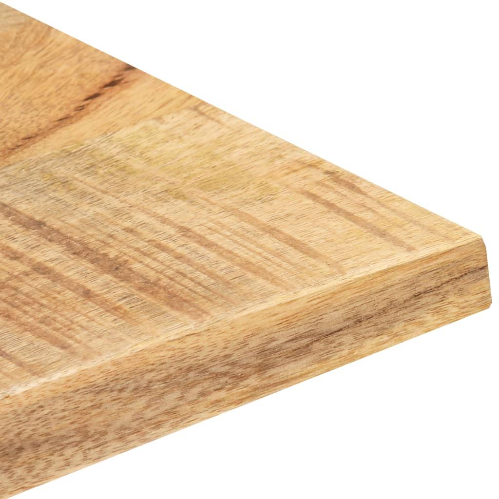 vidaXL Tafelblad 25-27 mm 90x70 cm massief mangohout