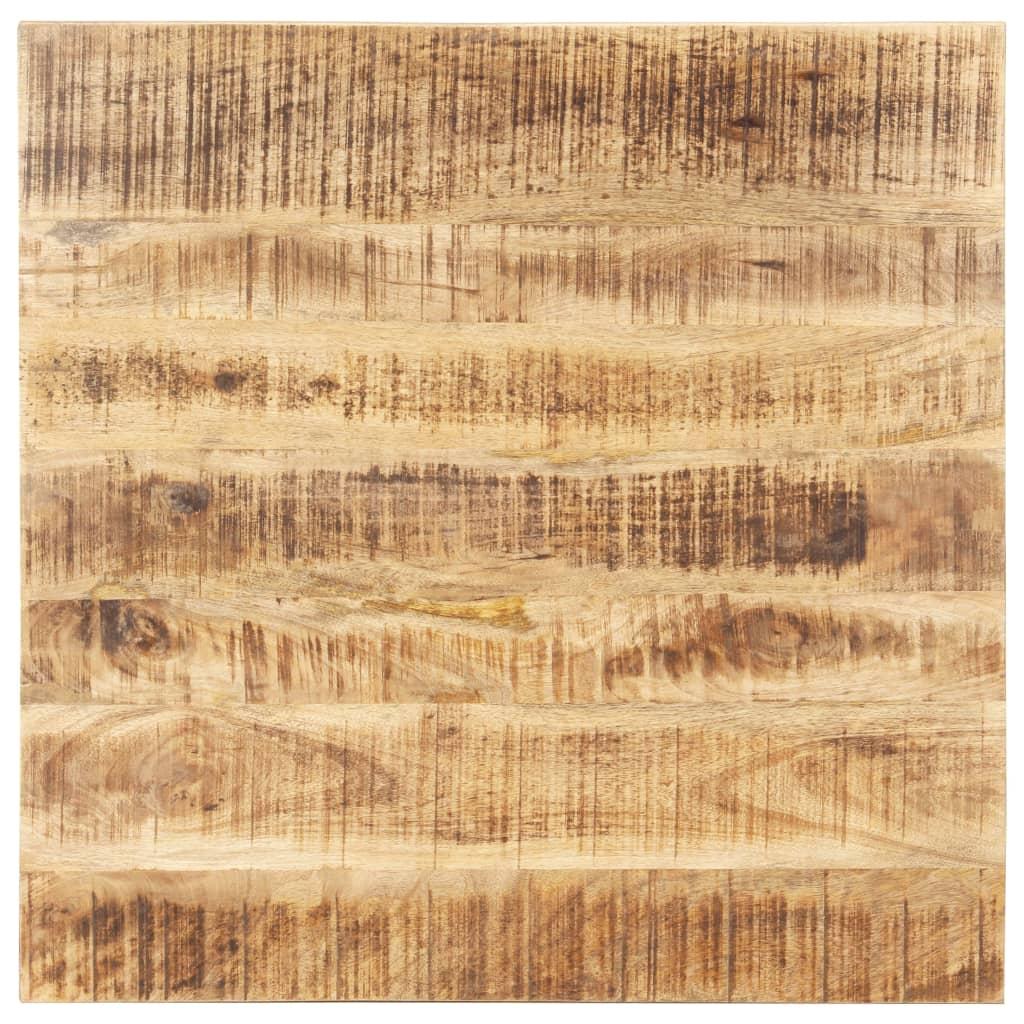 vidaXL Blat de masă, 80 x 80 cm, lemn masiv de mango, 25-27 mm imagine vidaxl.ro