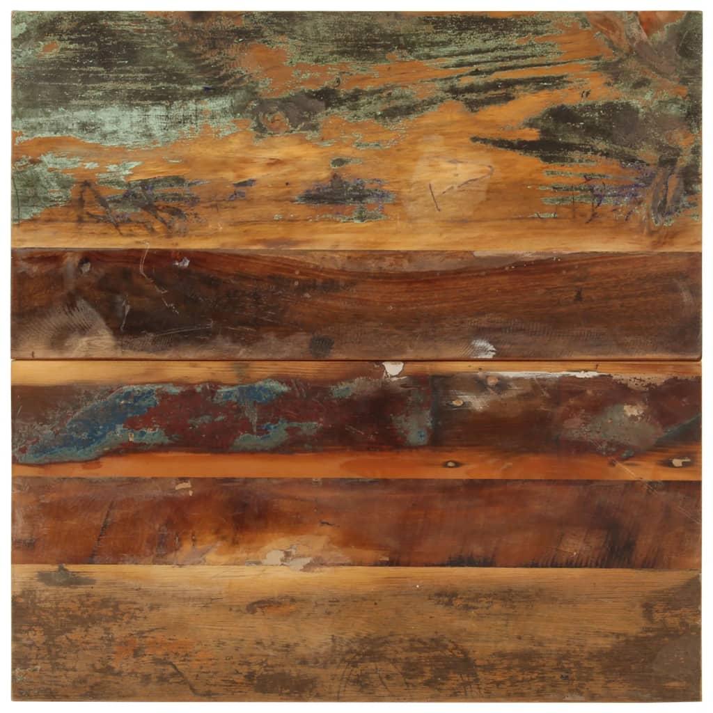 vidaXL Blat de masă pătrat, 60 x 60 cm, lemn masiv reciclat, 15-16 mm vidaxl.ro