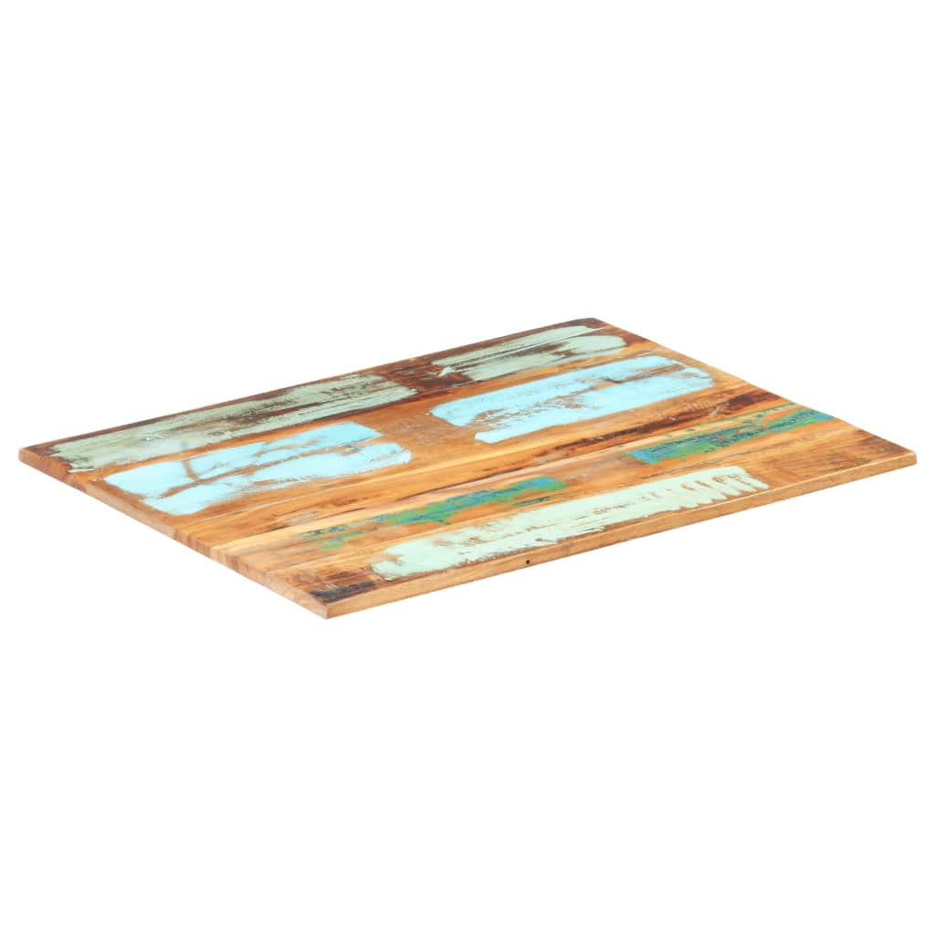 vidaXL Blat masă dreptunghiular 60x80 cm lemn masiv reciclat 15-16 mm poza vidaxl.ro