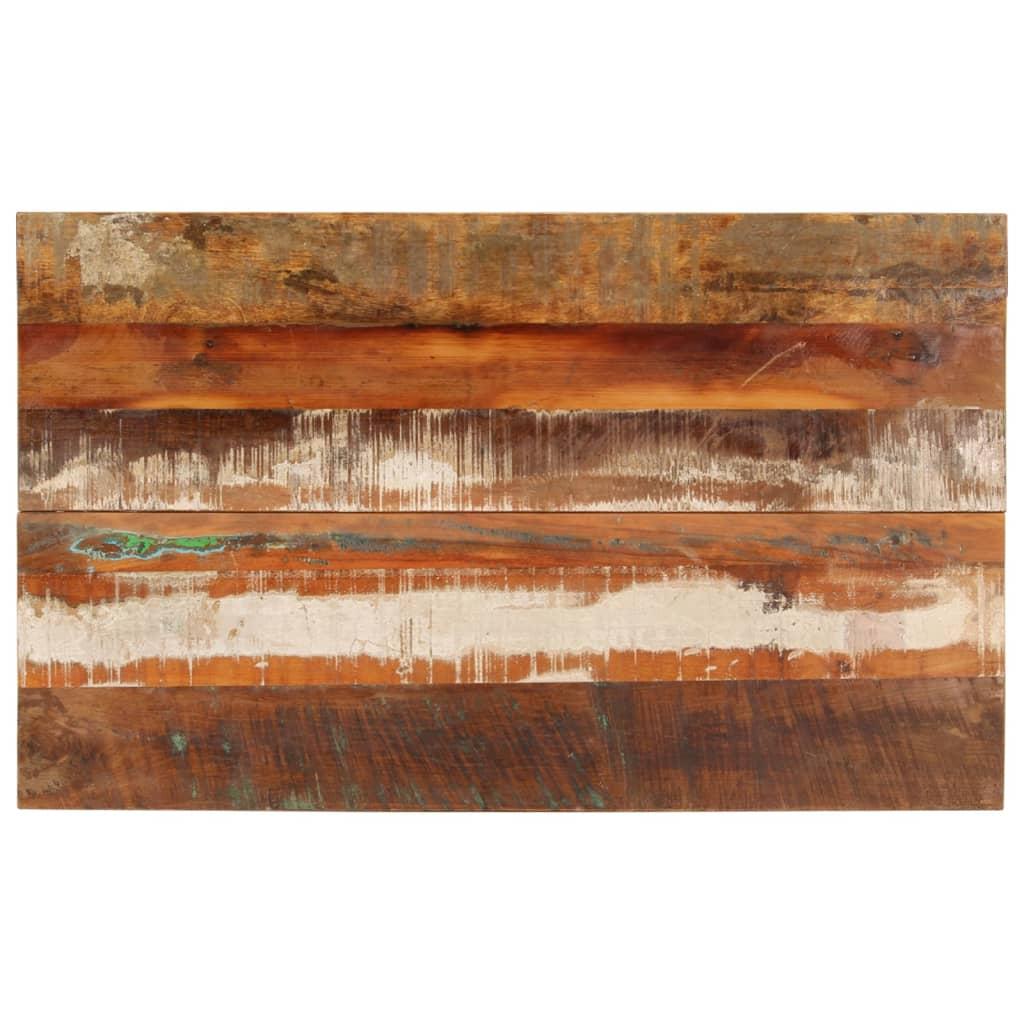 vidaXL Blat masă dreptunghiular 60x100 cm lemn masiv reciclat 15-16 mm vidaxl.ro