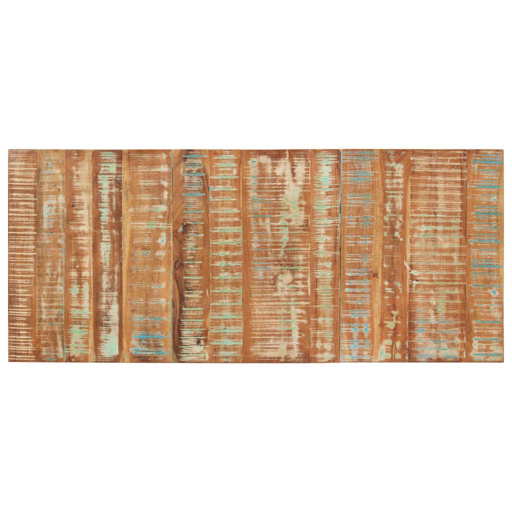 Obdélníková stolní deska 60 x 140 cm 15–16 mm recyklované dřevo
