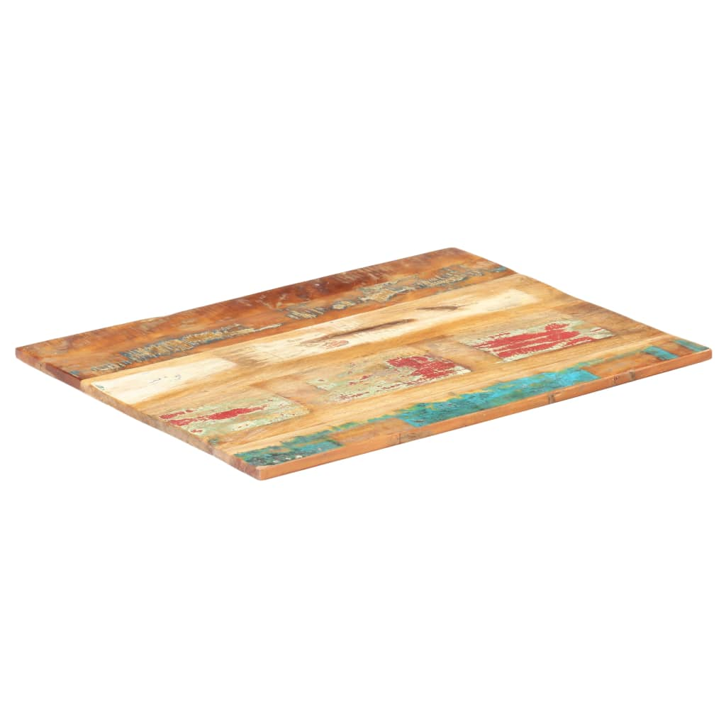 vidaXL Blat masă dreptunghiular 70x80 cm lemn masiv reciclat 15-16 mm poza 2021 vidaXL