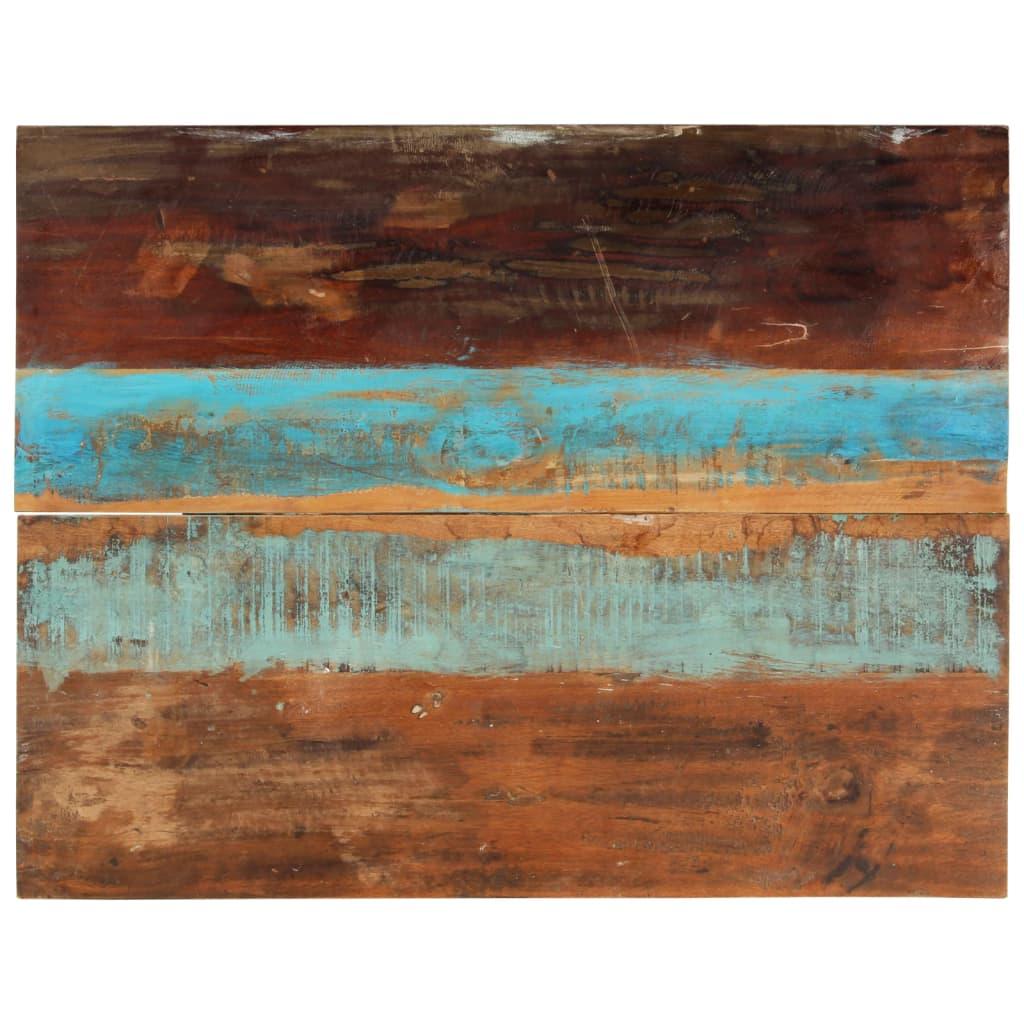 vidaXL Blat masă dreptunghiular 70x90 cm lemn masiv reciclat 15-16 mm vidaxl.ro