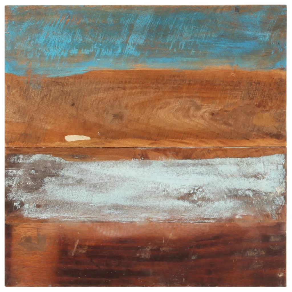 vidaXL Blat de masă pătrat, 60 x 60 cm, lemn masiv reciclat, 25-27 mm poza 2021 vidaXL