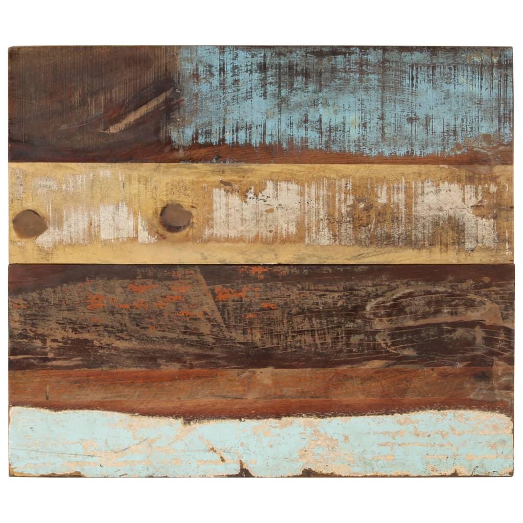 vidaXL Blat masă dreptunghiular 60x70 cm lemn masiv reciclat 25-27 mm vidaxl.ro