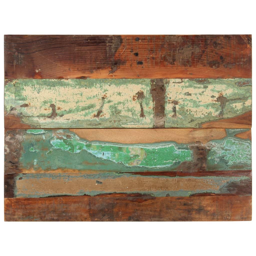 vidaXL Blat masă dreptunghiular 60x80 cm lemn masiv reciclat 25-27 mm vidaxl.ro