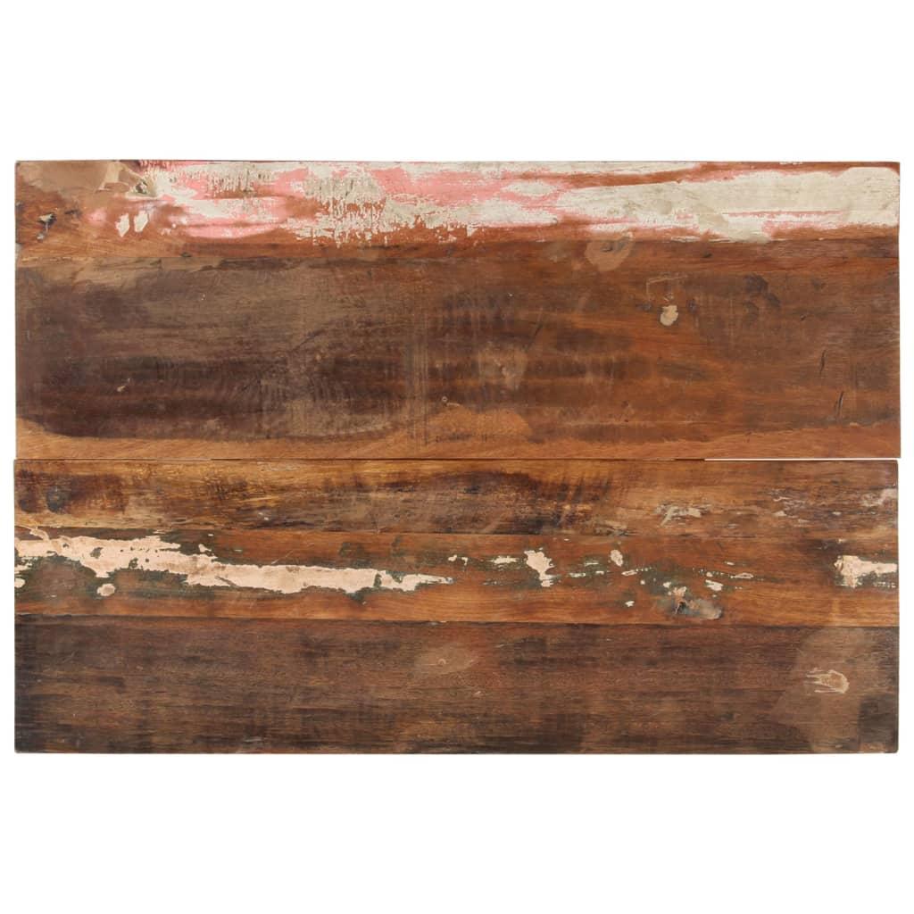 vidaXL Blat masă dreptunghiular 60x90 cm lemn masiv reciclat 25-27 mm poza vidaxl.ro