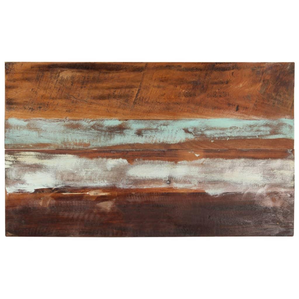 vidaXL Blat masă dreptunghiular 60x100 cm lemn masiv reciclat 25-27 mm poza vidaxl.ro