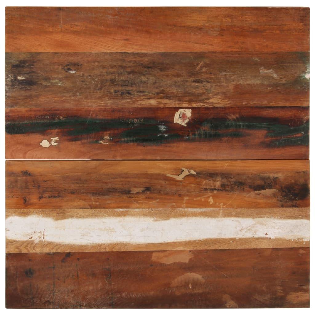 vidaXL Blat de masă pătrat, 70 x 70 cm, lemn masiv reciclat, 25-27 mm poza 2021 vidaXL