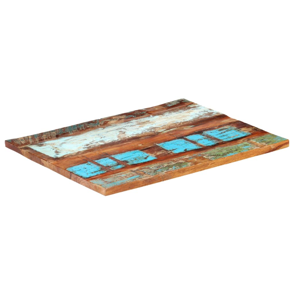 Stolní deska obdélník 70x90cm 25–27mm masivní recyklované dřevo