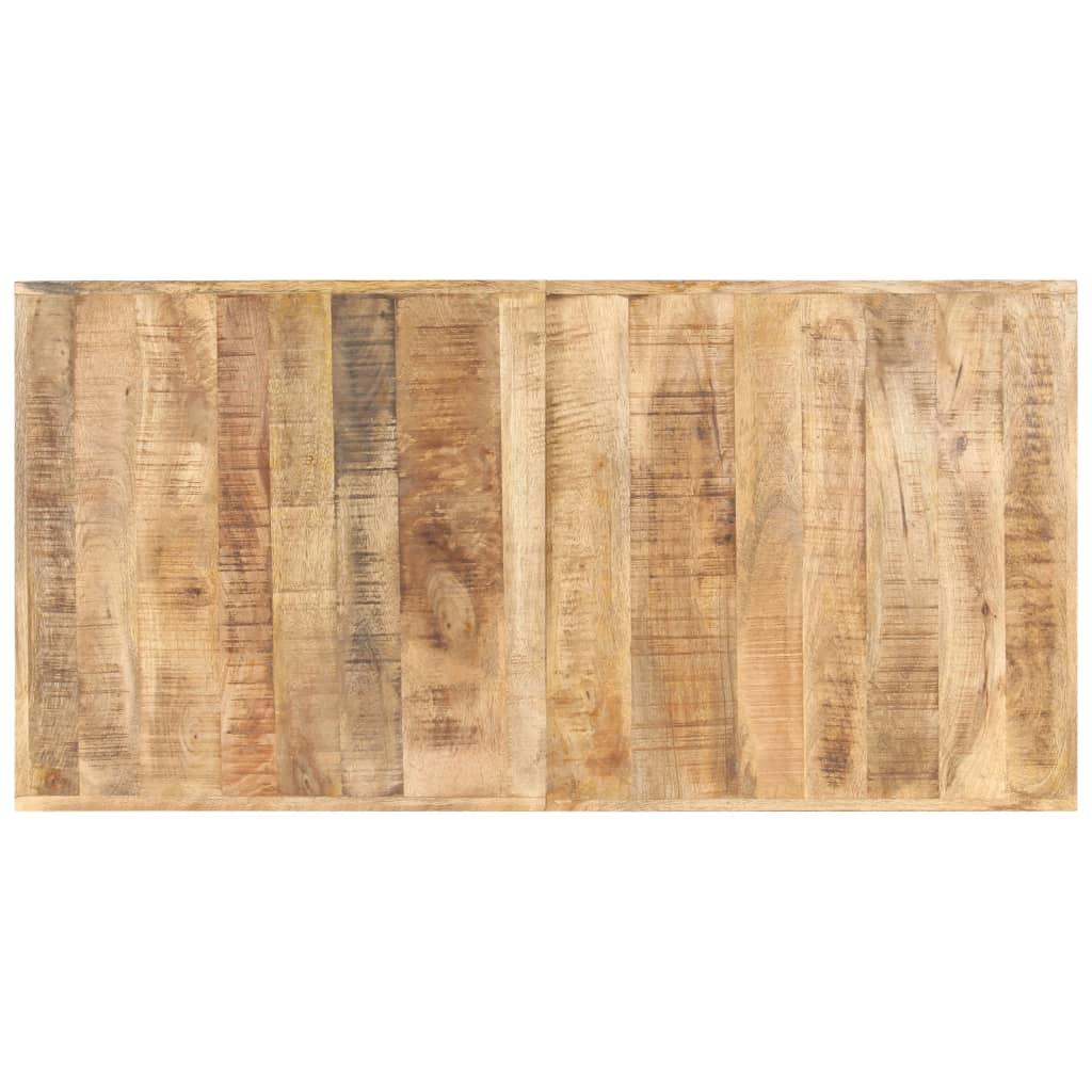 vidaXL Blat de masă, 140 x 70 cm, lemn masiv de mango, 16 mm poza vidaxl.ro