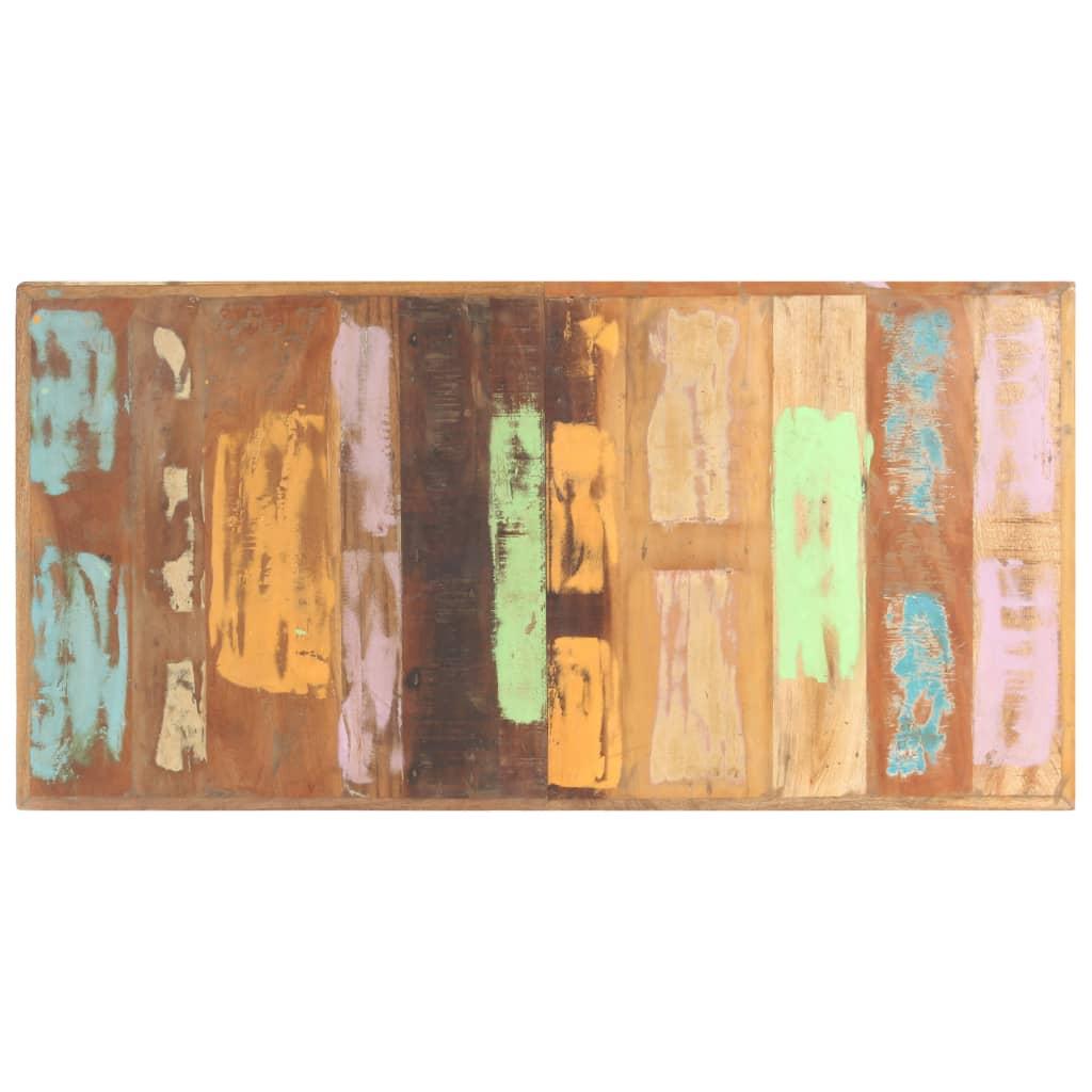 vidaXL Blat de masă, 140 x 70 cm, lemn masiv reciclat, 16 mm imagine vidaxl.ro
