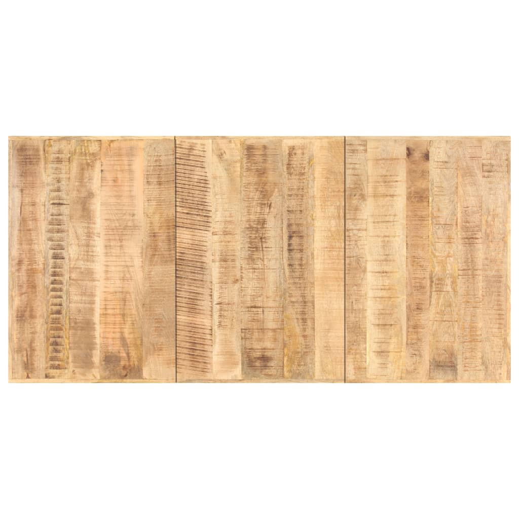 vidaXL Blat de masă, 160 x 80 cm, lemn masiv de mango, 16 mm imagine vidaxl.ro