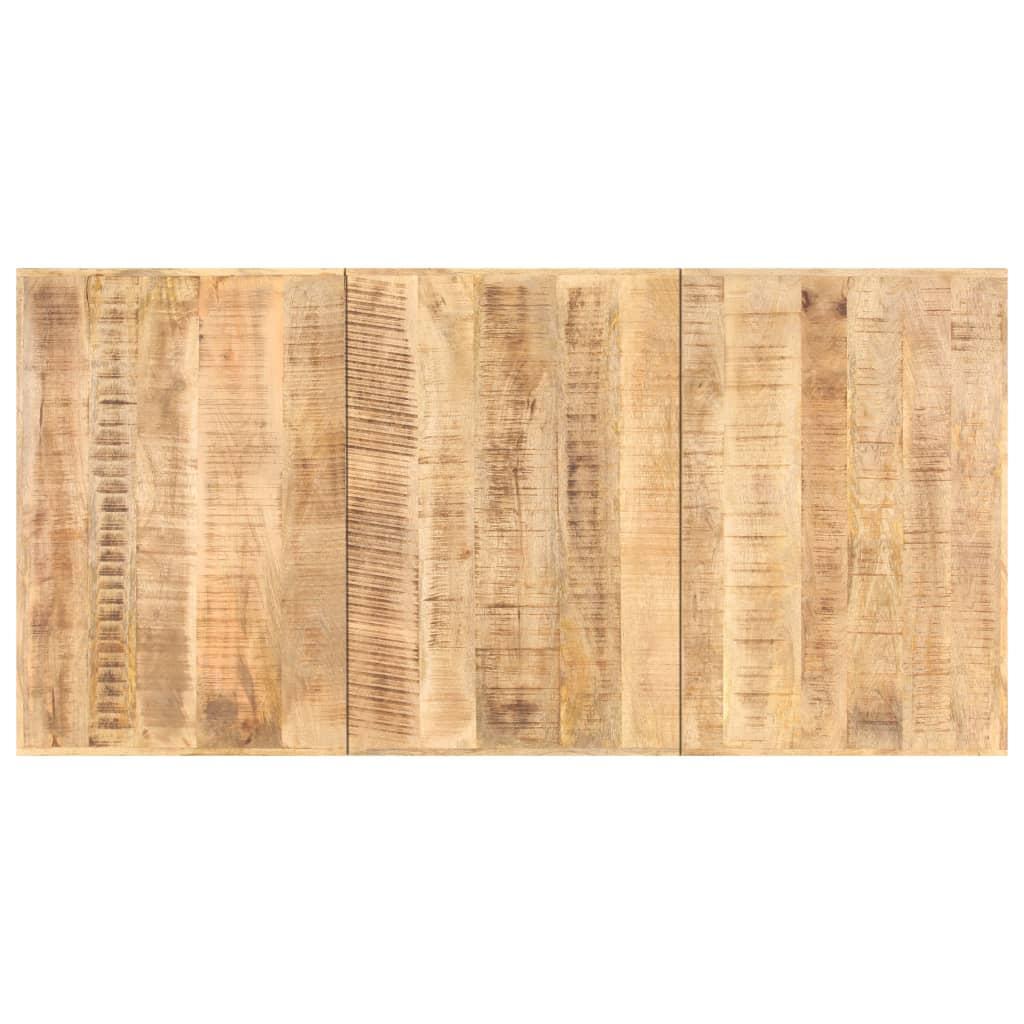 vidaXL Blat de masă, 200 x 100 cm, lemn masiv de mango, 16 mm poza 2021 vidaXL
