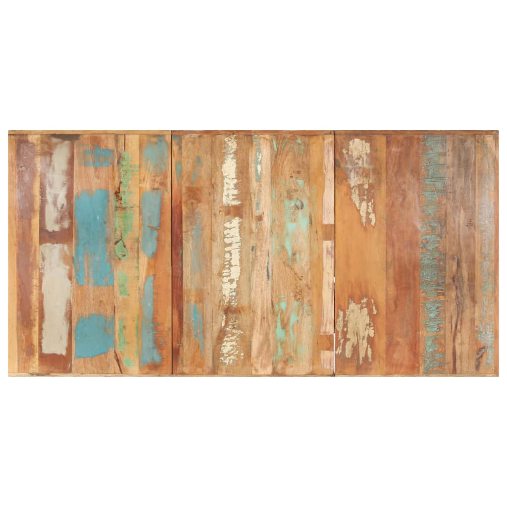 vidaXL Blat de masă, 200 x 100 cm, lemn masiv reciclat, 16 mm poza vidaxl.ro