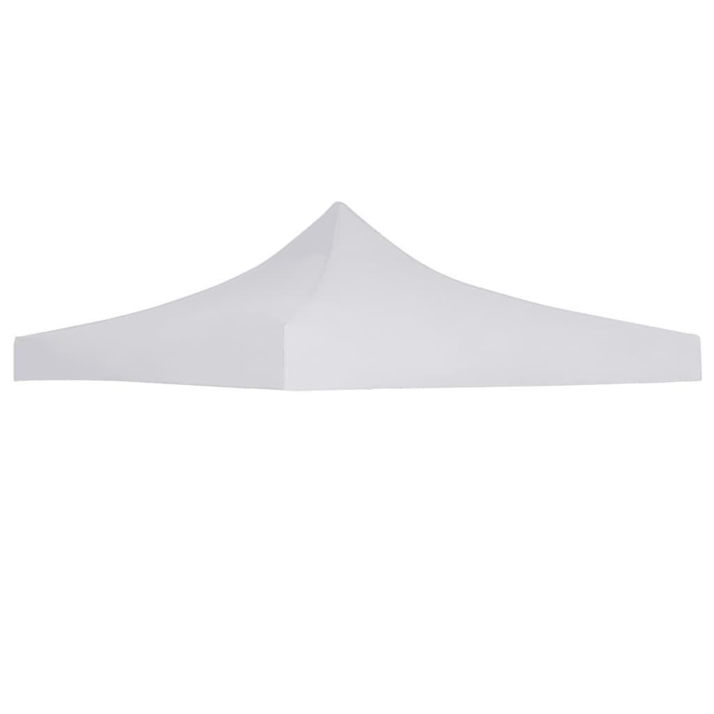 vidaXL Acoperiș cort de petrecere, alb, 3 x 3 m imagine vidaxl.ro