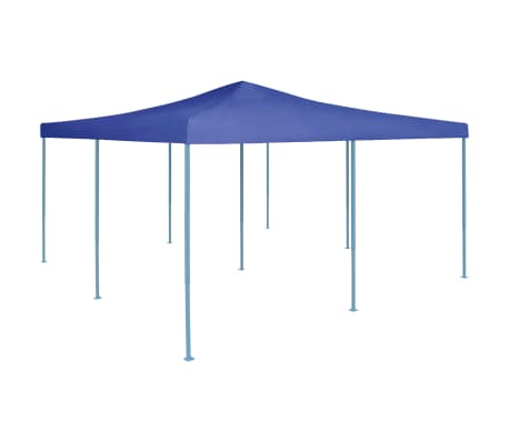 vidaXL Prieel inklapbaar 5x5 m blauw
