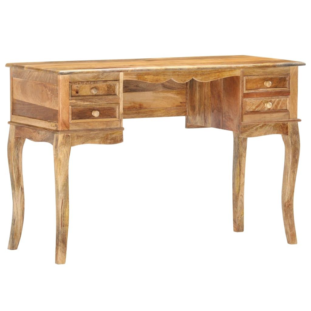 vidaXL Birou, 115 x 45 x 75 cm, lemn masiv de mango vidaxl.ro
