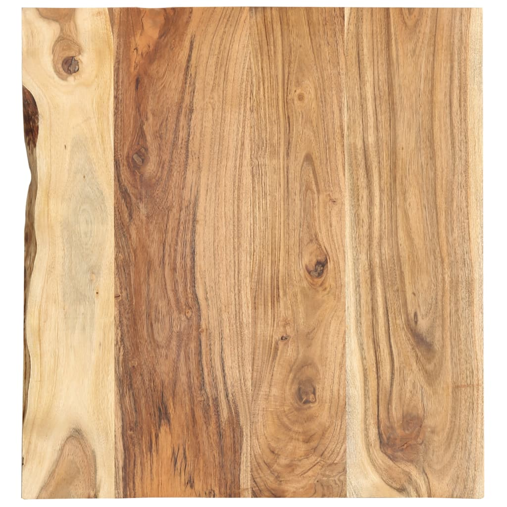 vidaXL Blat lavoar de baie, 60 x 55 x 2,5 cm, lemn masiv de acacia poza vidaxl.ro