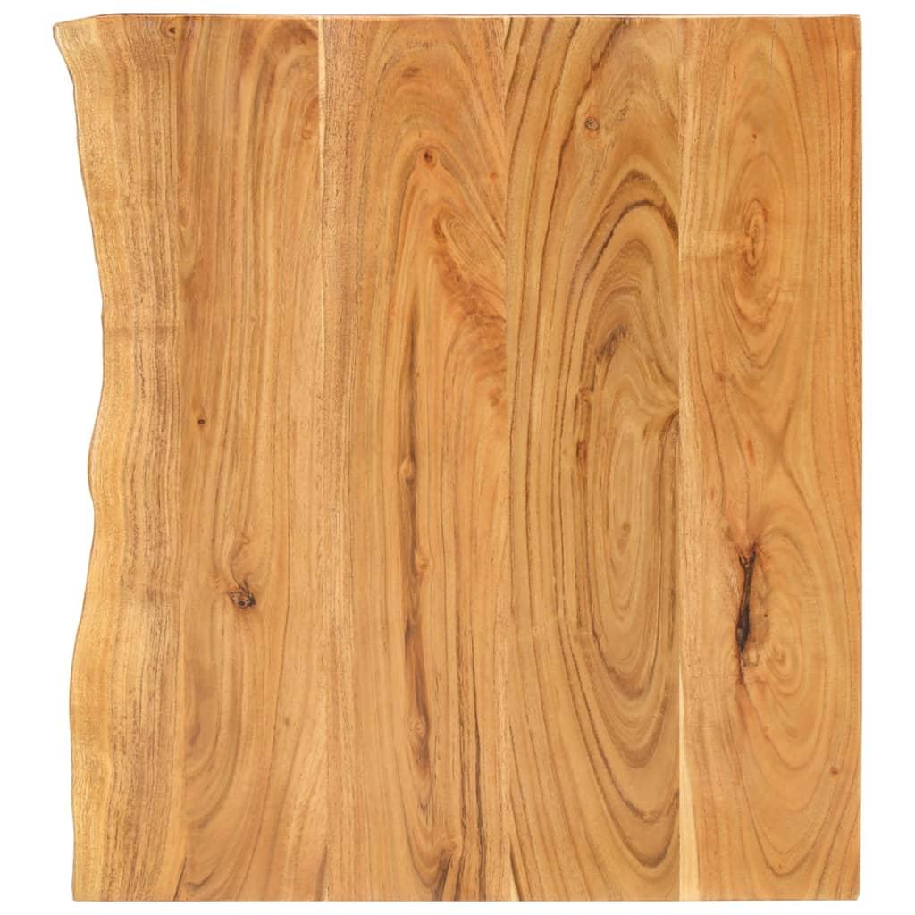 vidaXL Blat lavoar de baie, 80 x 55 x 3,8 cm, lemn masiv de acacia poza vidaxl.ro