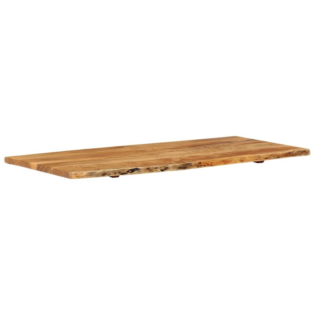 vidaXL Vrh za kupaonski ormarić od bagremovog drva 120 x 55 x 2,5 cm