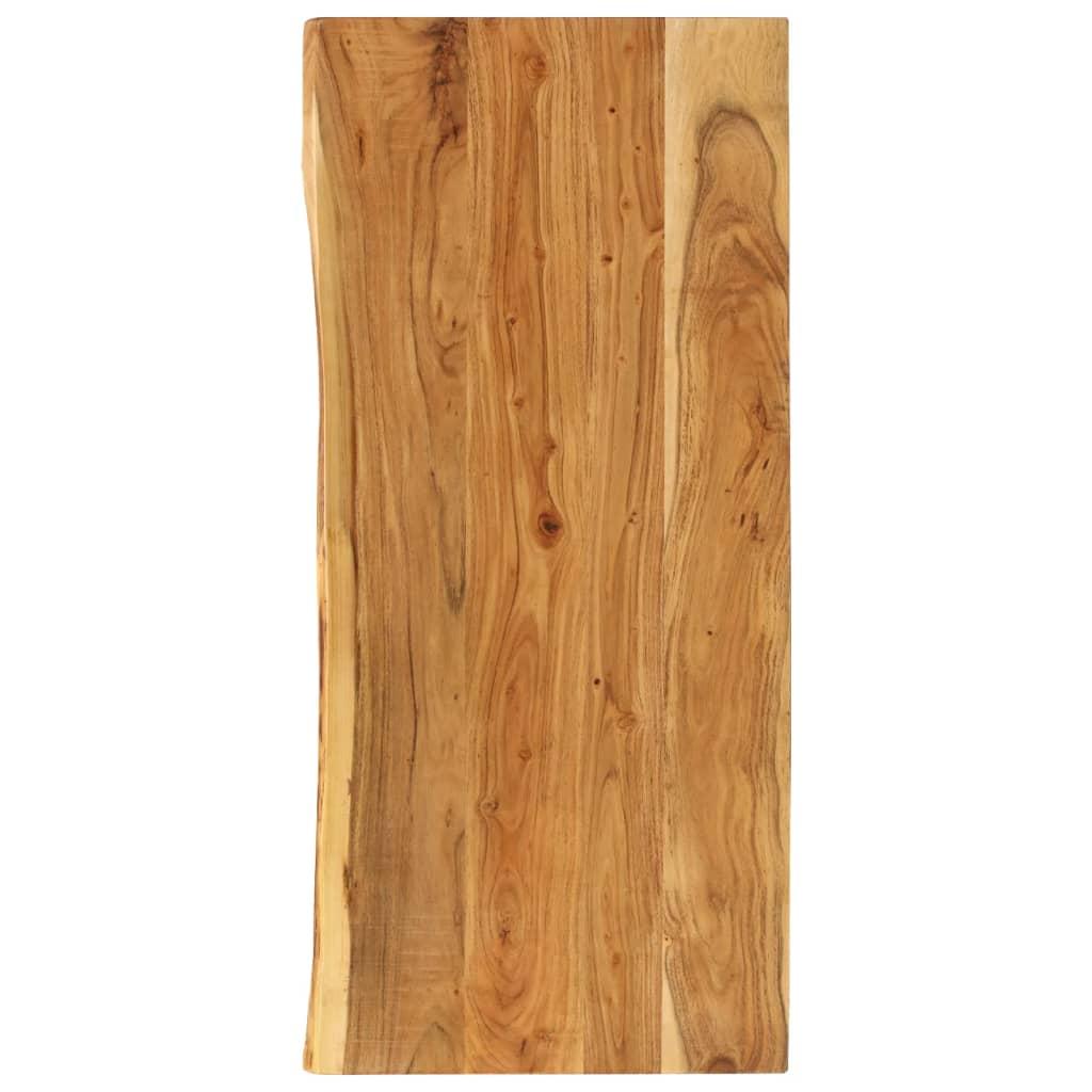 vidaXL Blat lavoar de baie, 140 x 55 x 2,5 cm, lemn masiv de acacia vidaxl.ro