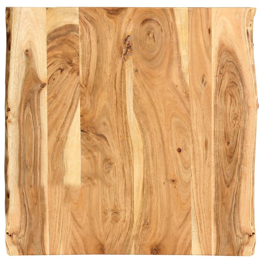 Stolní deska masivní akáciové dřevo 60x60x2,5 cm