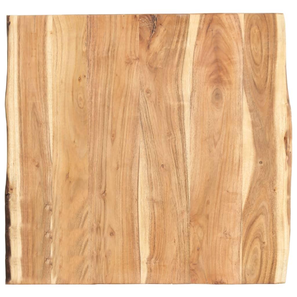 Stolní deska masivní akáciové dřevo 60 x 60 x 3,8 cm