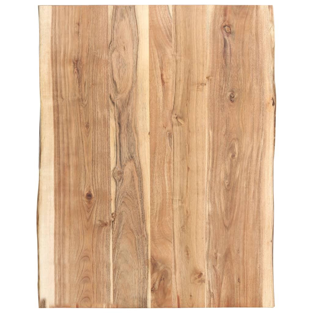 Stolní deska masivní akáciové dřevo 80 x 60 x 3,8 cm