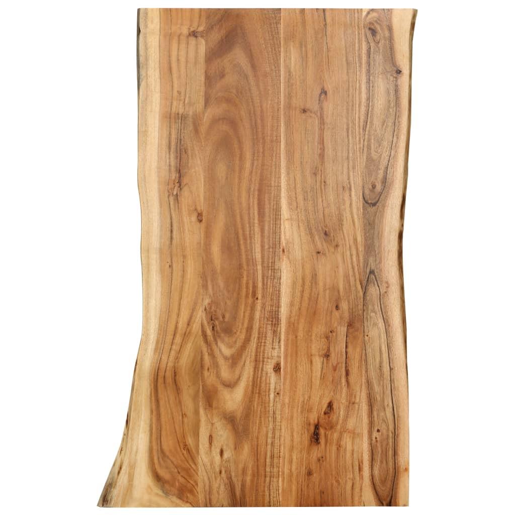 Stolní deska masivní akáciové dřevo 100 x 60 x 2,5 cm