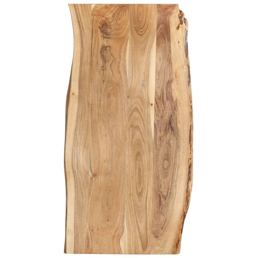 vidaXL Blat de masă, 120x60x2,5 cm, lemn masiv de acacia poza 2021 vidaXL