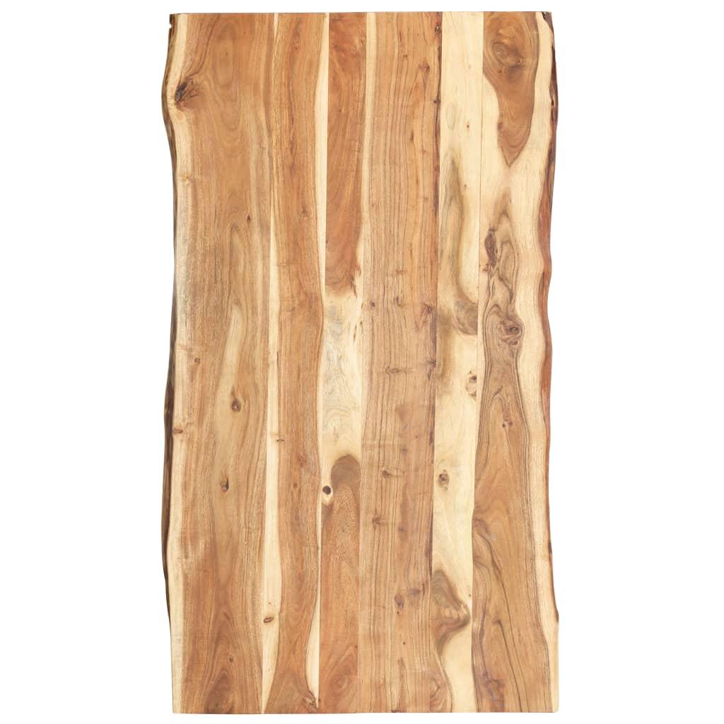 Stolní deska masivní akáciové dřevo 120 x 60 x 3,8 cm