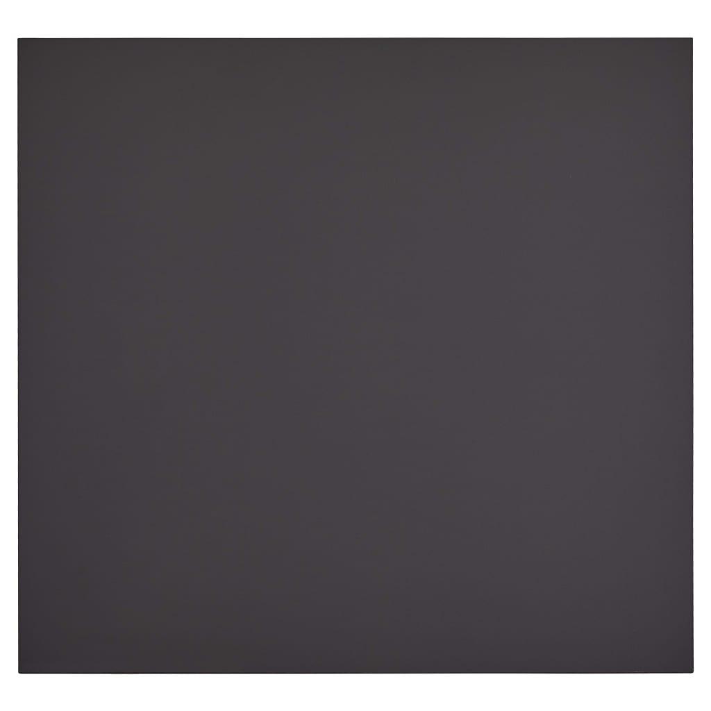 vidaXL Eettafel 80,5x80,5x73 cm MDF grijs en eikenkleurig