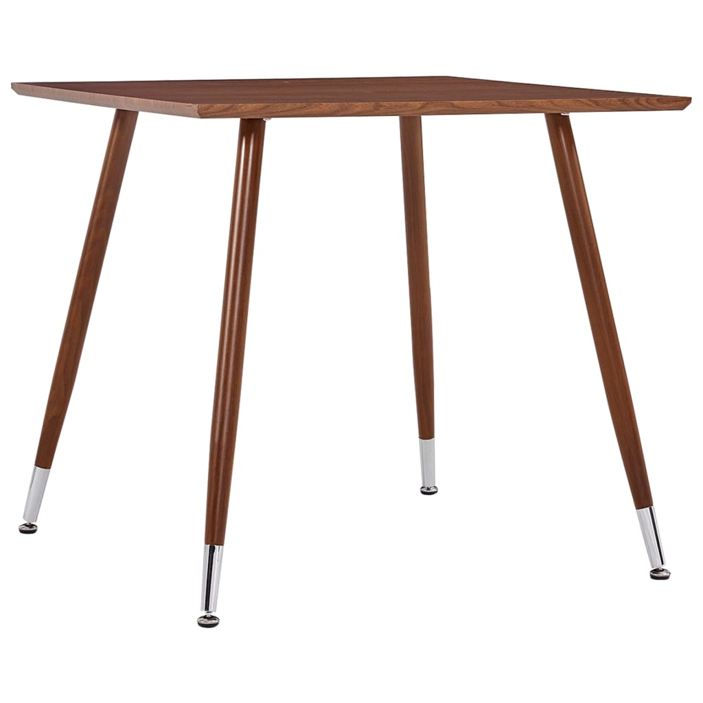 Jídelní stůl hnědý 80,5 x 80,5 x 73 cm MDF