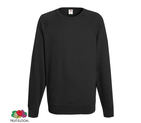 Fruit of the Loom Sweatshirt crewneck 5 st ljus grafit strl. S
