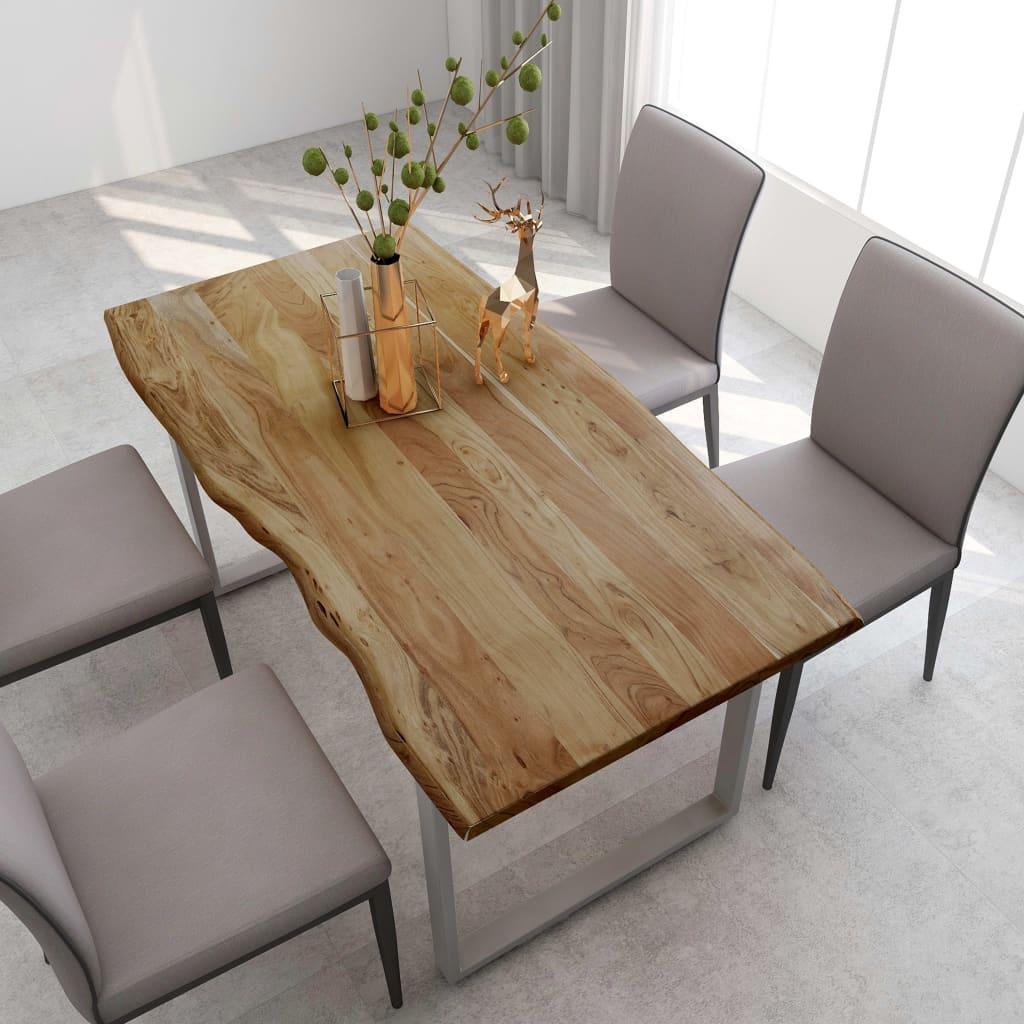 vidaXL Dessus de Table Plateau de Table Table de Salle /à Manger Plateau de Meuble Table Basse Table de Jardin Maison Blanc /Ø60 cm Marbre