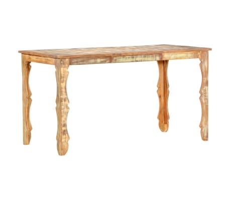 vidaXL Table de salle à manger 140x70x76cm Bois de récupération massif