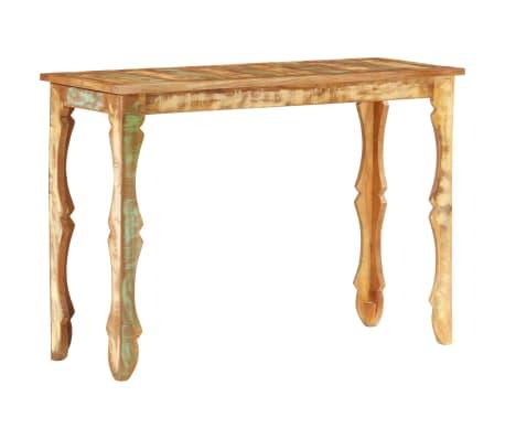 vidaXL Konzolový stolek 110 x 40 x 76 cm masivní recyklované dřevo