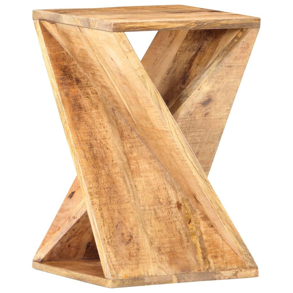 vidaXL Masă laterală, 35 x 35 x 55 cm, lemn masiv de mango poza 2021 vidaXL