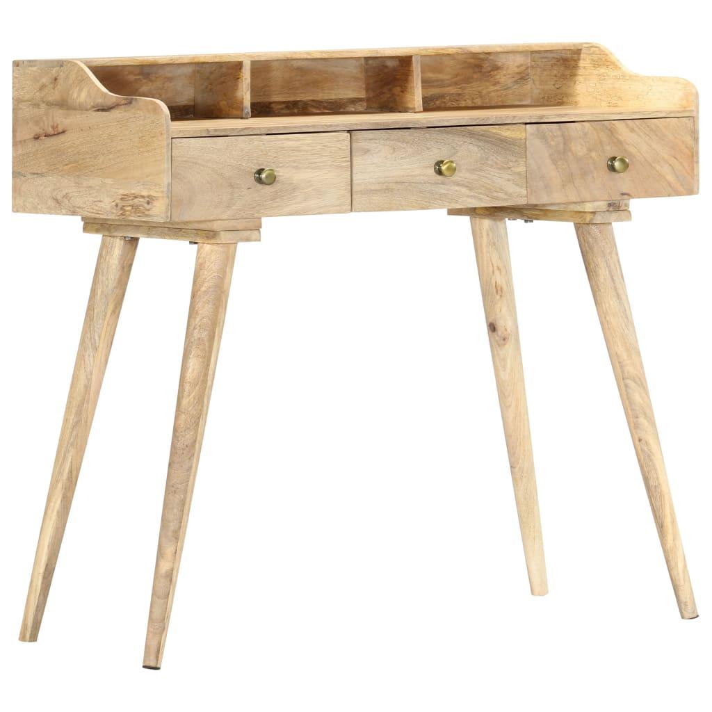 vidaXL Pisaći stol 90 x 45 x 86 cm od masivnog drva manga