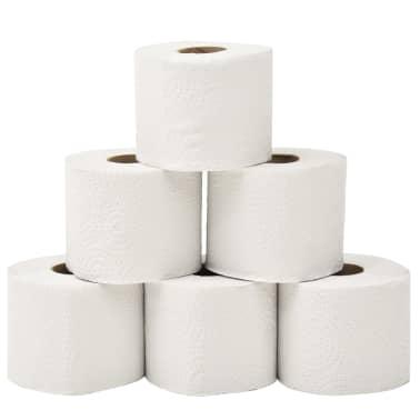 vidaXL 2-lagiges Geprägtes Toilettenpapier 128 Rollen 250 Blätter[2/5]
