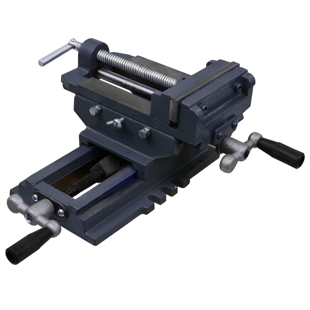 vidaXL Bankschroef handmatig 127 mm