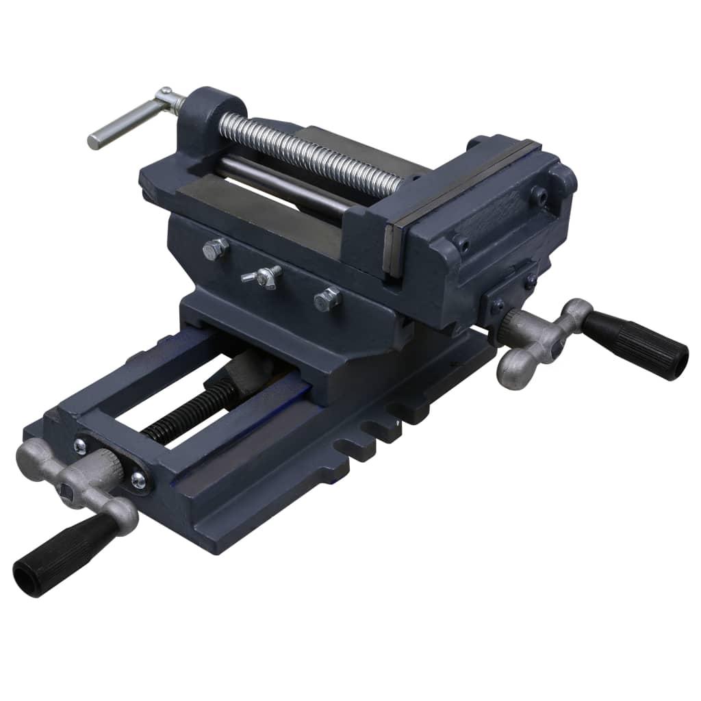 vidaXL Bankschroef handmatig 150 mm